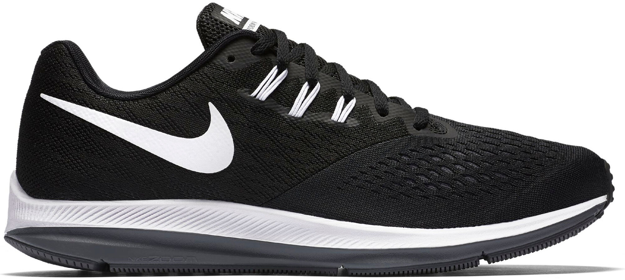 985f2b108d9 Nike Air Zoom Winflo 4 - Zapatillas running Hombre - negro